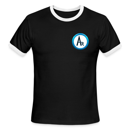 AR T-Shirt (Black) - Men's Ringer T-Shirt