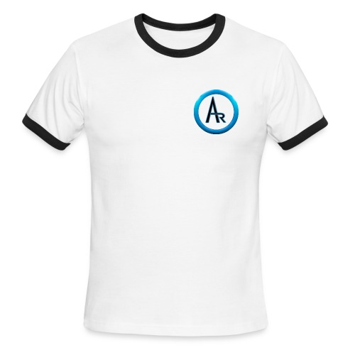 AR T-Shirt (White) - Men's Ringer T-Shirt