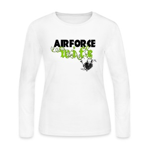 Air Force Wife - Women's Long Sleeve Jersey T-Shirt