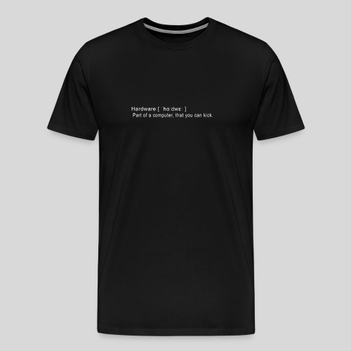 Hardware - Men's Premium T-Shirt