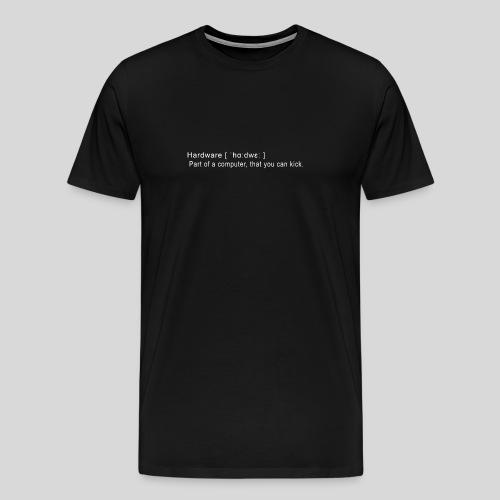 Hardware - Men's Premium T-Shirt