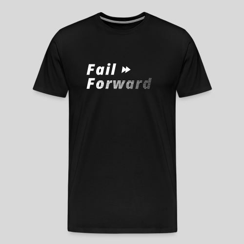 Fail forward - Men's Premium T-Shirt