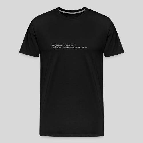 Programmer - Men's Premium T-Shirt