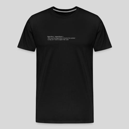 Algorithm - Men's Premium T-Shirt