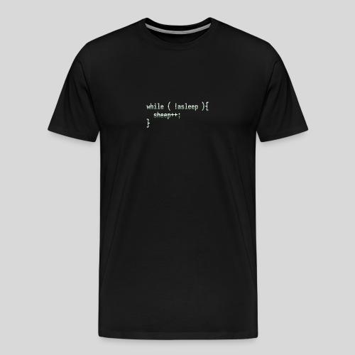 Not asleep - Men's Premium T-Shirt