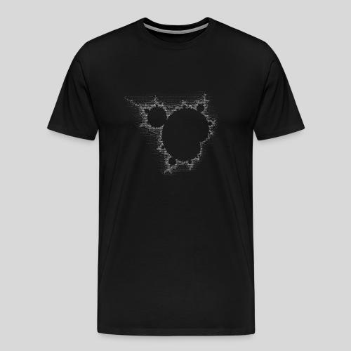 ASCII-Mandelbrot - Men's Premium T-Shirt