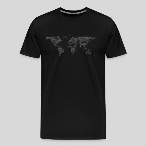 ASCII-Earth - Men's Premium T-Shirt