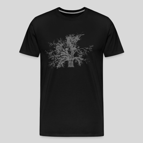 ASCII-Tree - Men's Premium T-Shirt