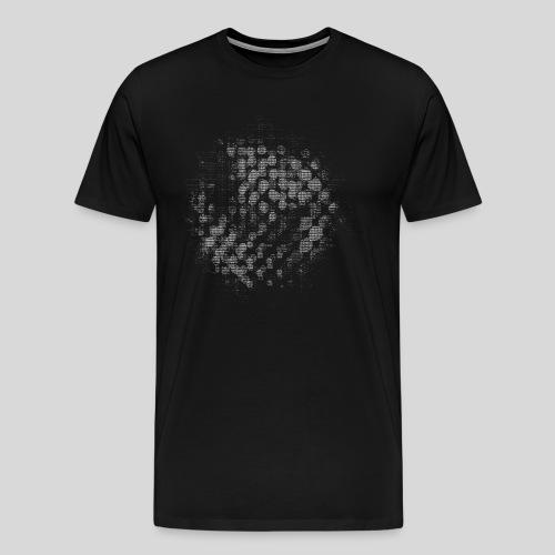 ASCII-Circles - Men's Premium T-Shirt