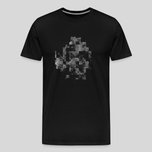 ASCII-Noise - Men's Premium T-Shirt