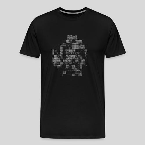 ASCII-Noise - Men's Premium T-Shirt