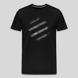 ASCII-Stripes - Men's Premium T-Shirt