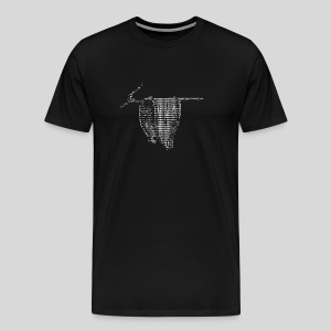 ASCII-Clock - Men's Premium T-Shirt