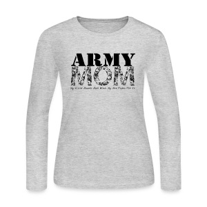 Army Mom (SON) - Women's Long Sleeve Jersey T-Shirt