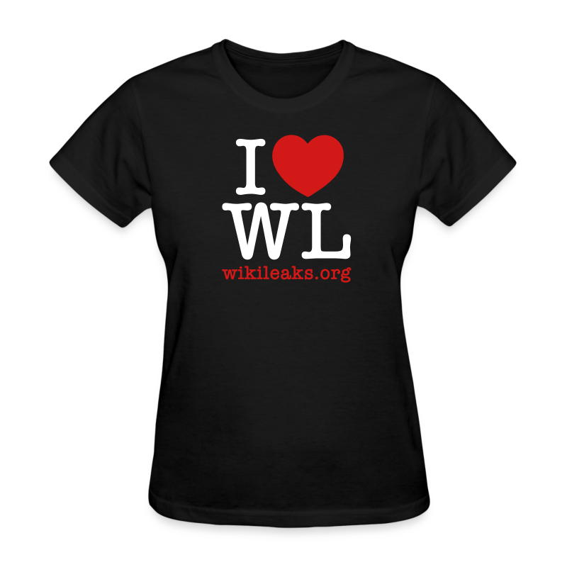 I Heart WikiLeaks - Women's T-Shirt