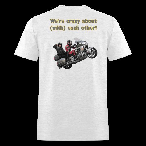 Men's T Back WWheelie crazy - Men's T-Shirt