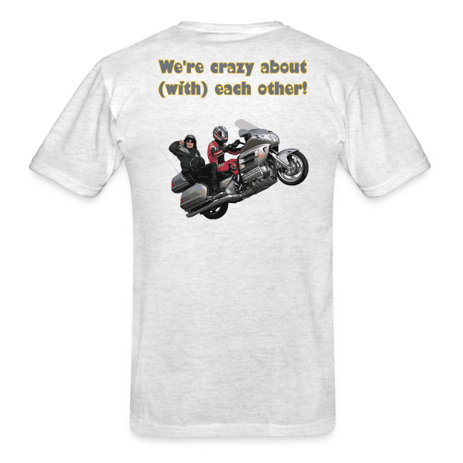 Men's T Back WWheelie crazy