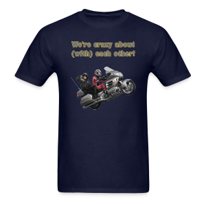 Men's T Front WWheelie crazy - Men's T-Shirt