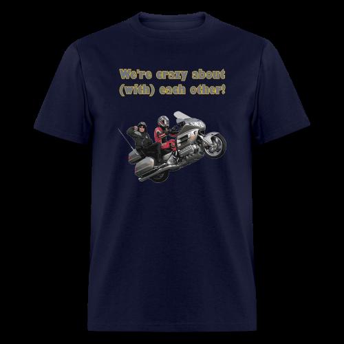 Men's T Front WWheelie crazy - Men's T-Shirt