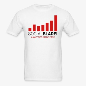 Social Blade - 2017 (Basic Light) - Men's T-Shirt