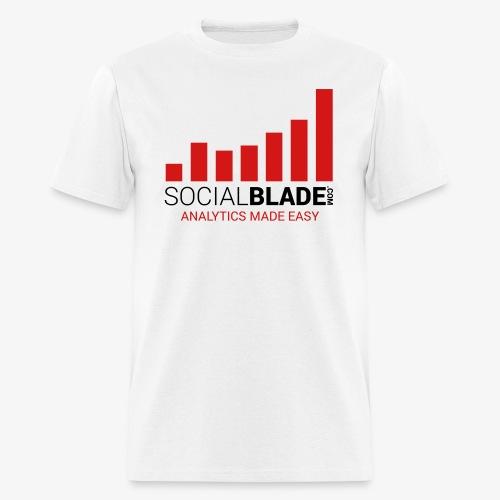 Social Blade - 2017 (Basic Light) - Men's T-Shirt