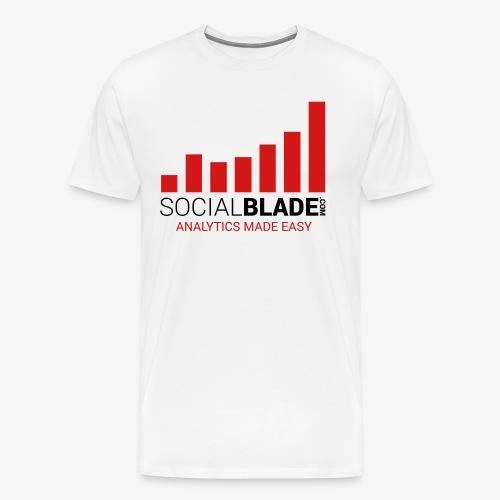 Social Blade - 2017 (Light) - Men's Premium T-Shirt