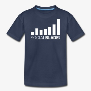 Social Blade 2017 - Youth (Navy Simple) - Kids' Premium T-Shirt
