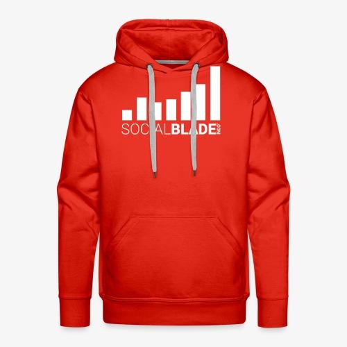 Social Blade 2017 - Hoodie (Red) - Men's Premium Hoodie
