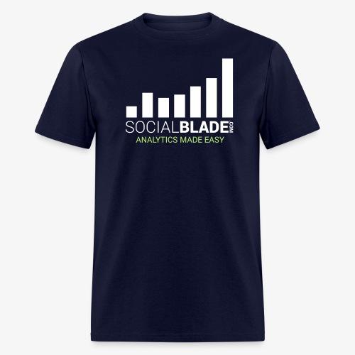 Social Blade (2017) - (Navy) - Men's T-Shirt