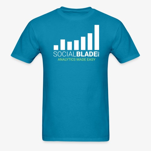 Social Blade (2017) - (Turq) - Men's T-Shirt