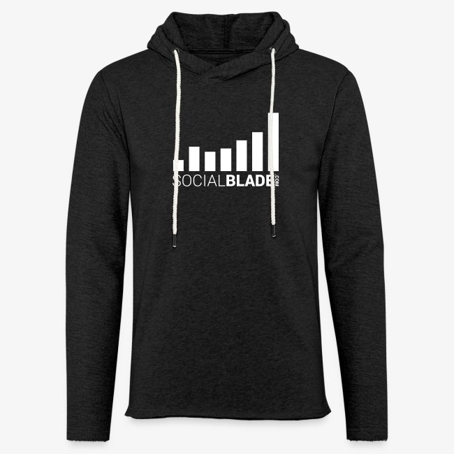 Social Blade (2017) - Unisex Hoodie (Charcoal Gray)