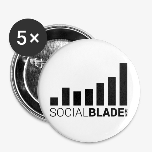 Social Blade (2017) - Button - Buttons small 1'' (5-pack)