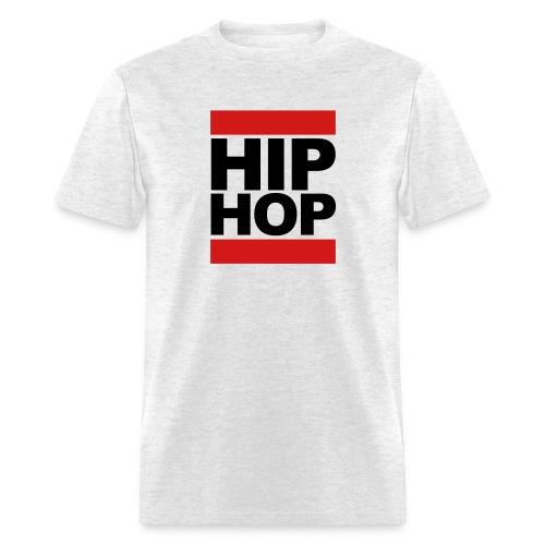 HipHop, Black Letters - Men's T-Shirt