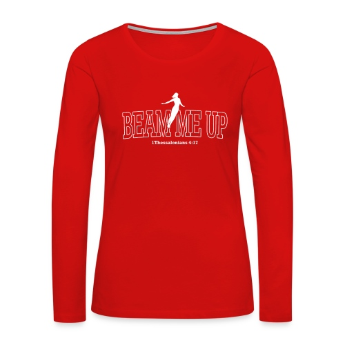Rapture Woman (Dk Ground) Long Sleeve Shirts - Women's Premium Long Sleeve T-Shirt