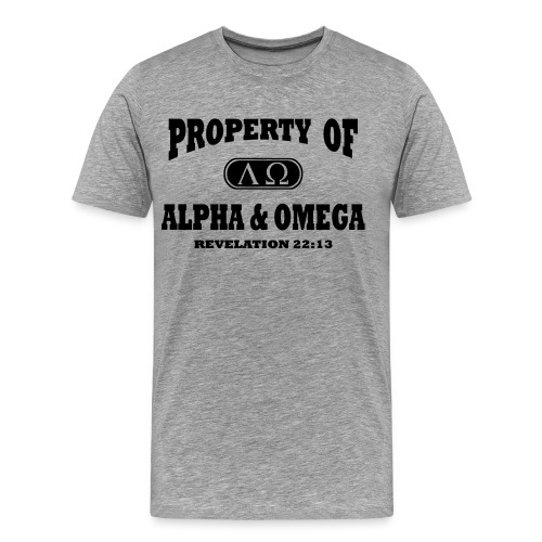 Alpha Omega T-Shirts - Men's Premium T-Shirt