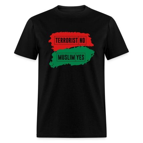 Muslim-Terrorist-Design-T - Men's T-Shirt