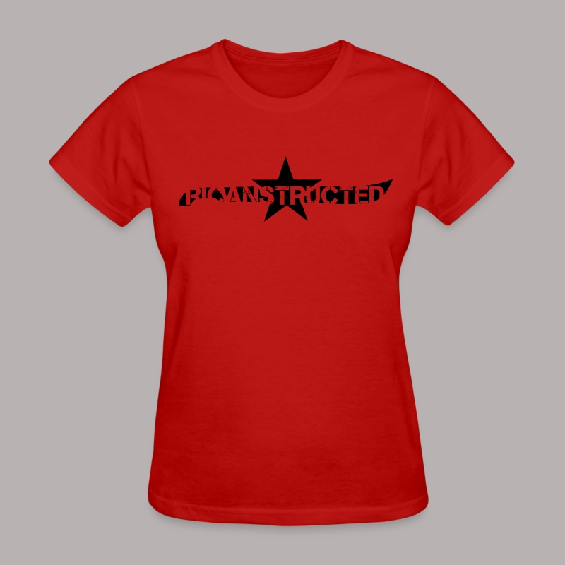 RICANSTRUCTED CUT OUT (KIDS) - Women's T-Shirt