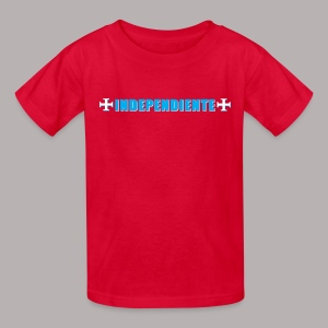INDEPENDIENTE RED KIDS - Kids' T-Shirt