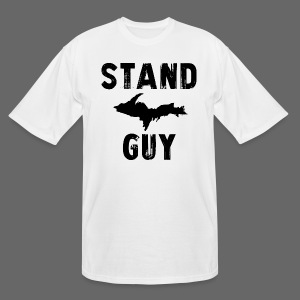 Stand U.P. Guy - Men's Tall T-Shirt
