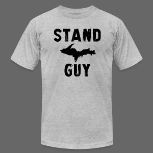 Stand U.P. Guy - Men's T-Shirt by American Apparel