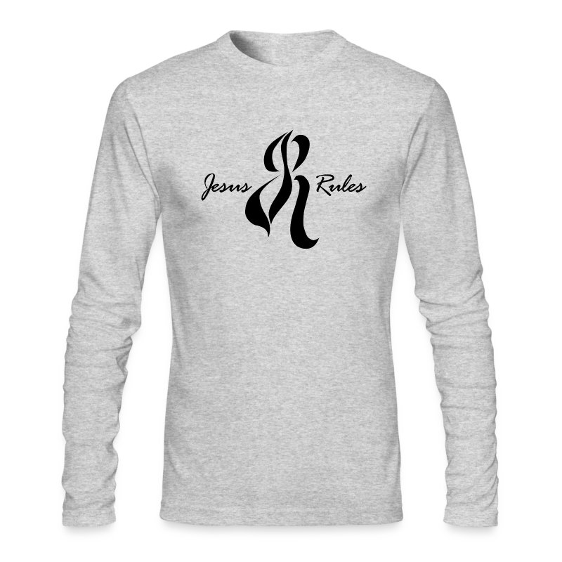 Jesus Rules - Men's Long Sleeve T-Shirt by Next Level