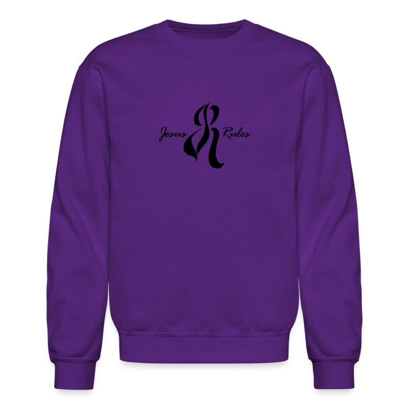 Jesus Rules - Crewneck Sweatshirt