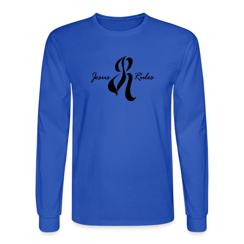Jesus Rules - Men's Long Sleeve T-Shirt