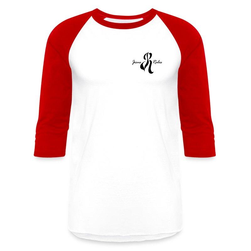 Jesus Rules - Baseball T-Shirt