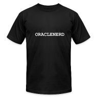 T-Shirts ~ Men's T-Shirt by American Apparel ~ ORACLENERD Classic T (3XL)