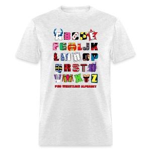 Alphabet (Men) - Men's T-Shirt