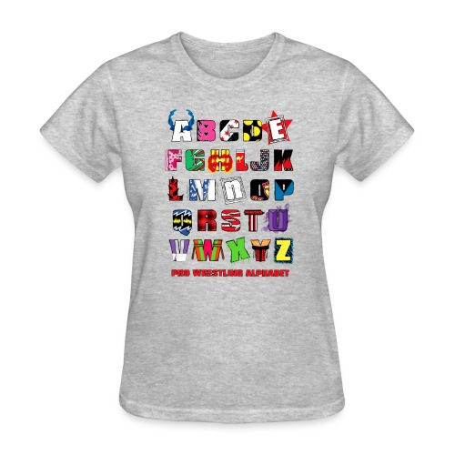 Alphabet (Women) - Women's T-Shirt