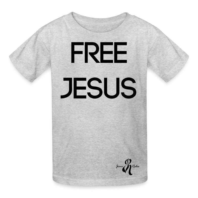 Jesus Rules - Kids' T-Shirt