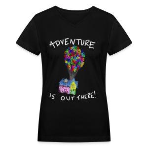 Adventure V-Neck - Women's V-Neck T-Shirt