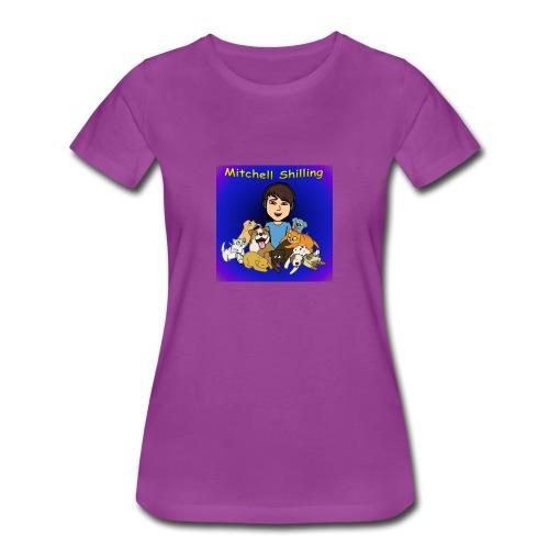 Mitchell Shilling T-Shirt For Girls - Women's Premium T-Shirt